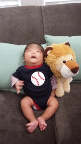 Jeremiah at two months