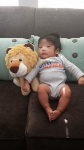 Jeremiah at three months