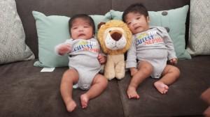 Three months! (Adrian - L, Jeremiah - R)