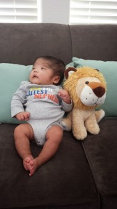 Adrian at three months!