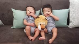 AJ & JT @ 6 months