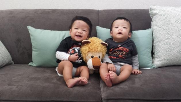AJ & JT @ 7 months