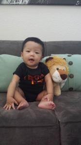 AJ @ 8 months