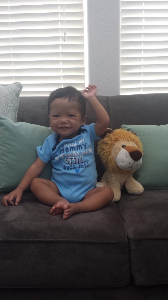 AJ @ 11 months