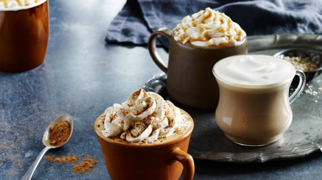 Salted caramel mochas and pumpkin spice lattes and peppermint mochas, OH MY!
