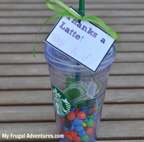 How to personalize a gift card diy sharissespieces starbucks gift cards negle Images