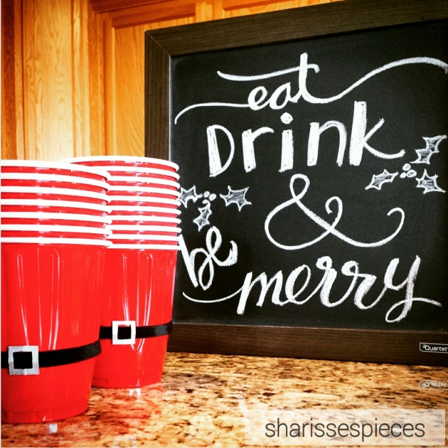 christmas chalkboard | sharissespieces